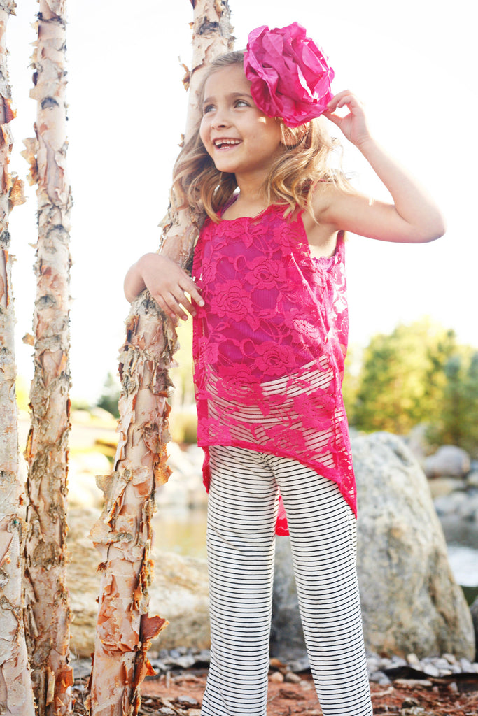 Girl's Everyday Yoga Pants PDF Sewing Pattern in Sizes XS to XL or 4 years to 14 years