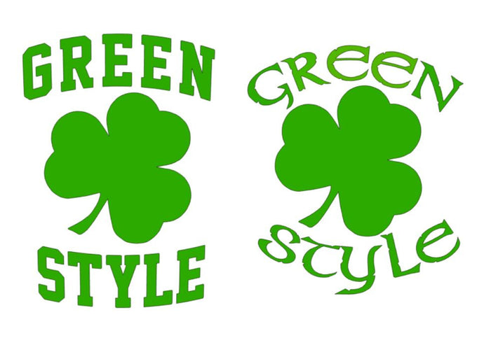 Cut File - Greenstyle Shamrocks