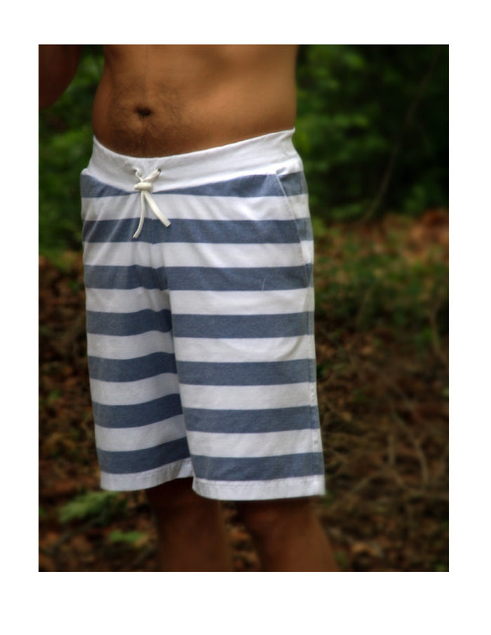 Hampton Shorts PDF Pattern and Tutorial Teen's and Men XS to XXL in Comfy Knit