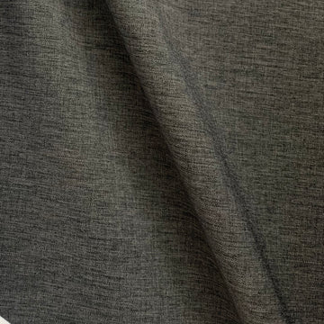 Stretch Woven -Darkest Grey Linen Look