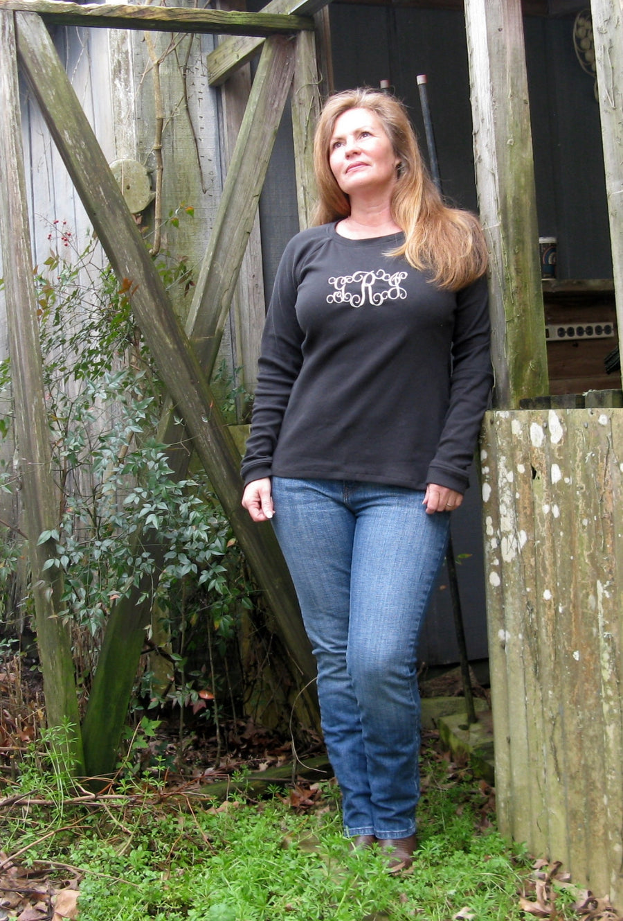 Centerfield Raglan T-Shirt PDF Pattern