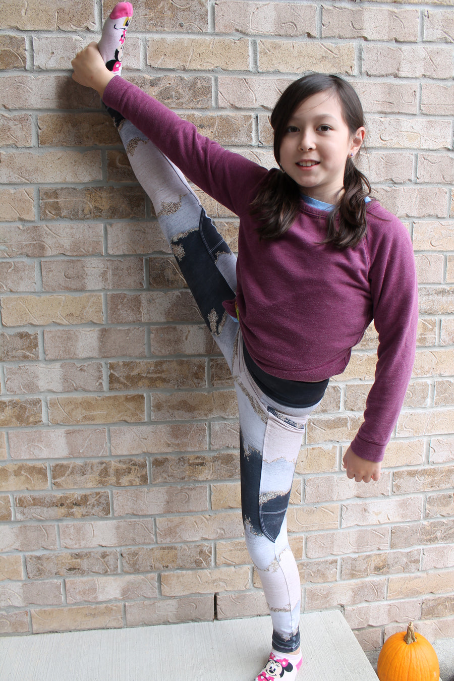 Youth Novello Leggings Sewing Pattern in Sizes 3 to 14