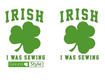 Cut File - Irish I Was Sewing