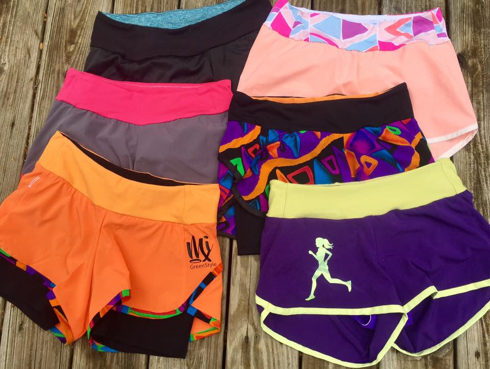 Moxi Shorts Compression Shorts Add-On Sizes 0 to 18