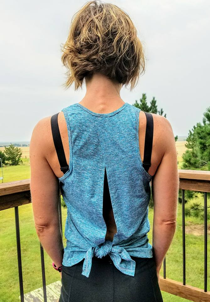 Tie Back Tank - Sizes XXS - 3XL