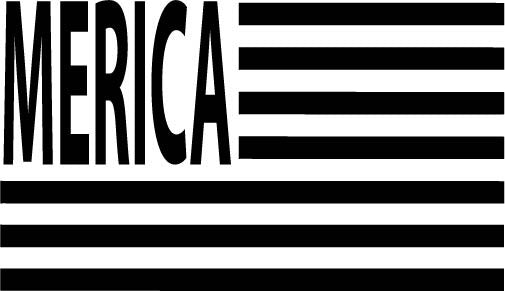 Cut File - Merica Flag