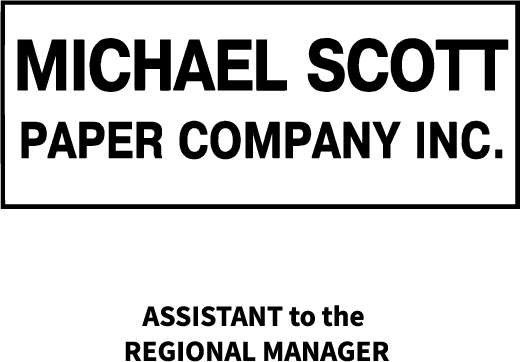 Cut File - Michael Scott Paper Company