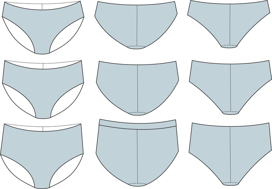 No Show Brief PDF Pattern