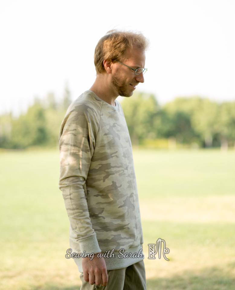 Men's Hudson Pullover PDF Sewing Pattern