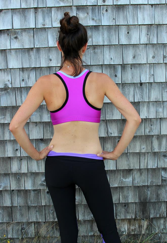 Endurance Sports Bra in Band Sizes 28 to 33 and Cups B - H