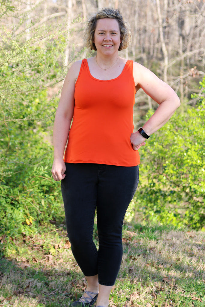Staple Tank PDF Sewing Pattern XXS - 3XL