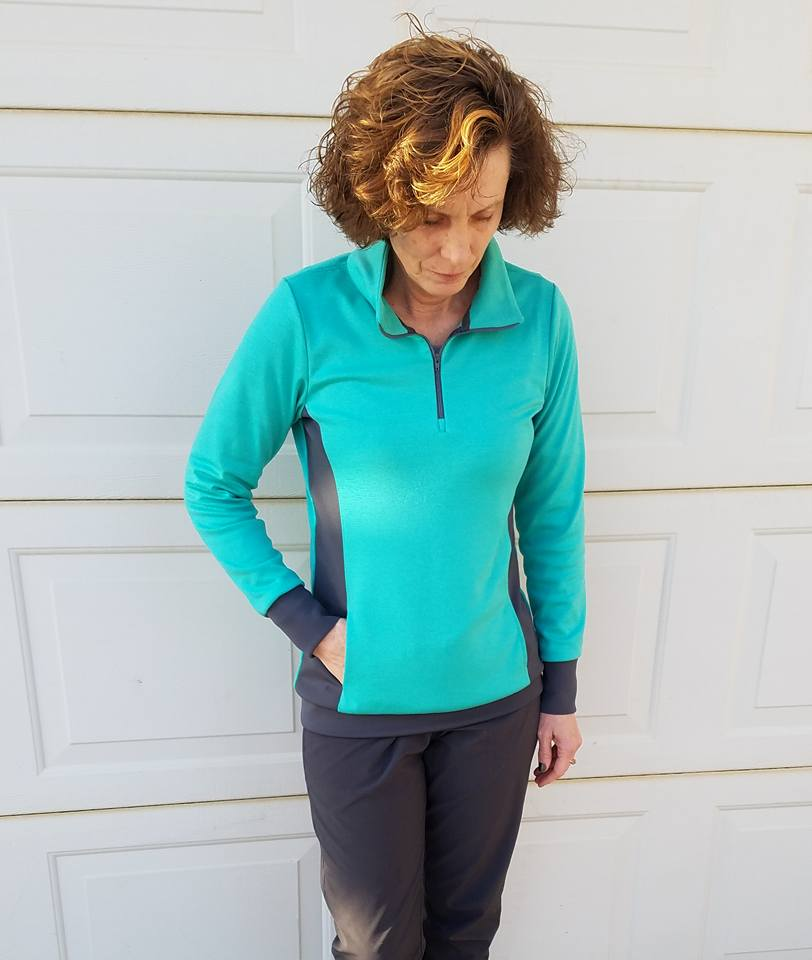 Pacific Pullover PDF Sewing Pattern in Sizes B-M