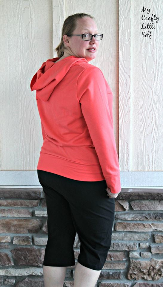 Open Back Pullover in Sizes XXS to 3XL