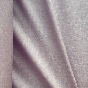 Stretch Woven - Pale Lilac Linen Look