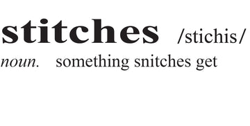Cut File - Stitches Definition