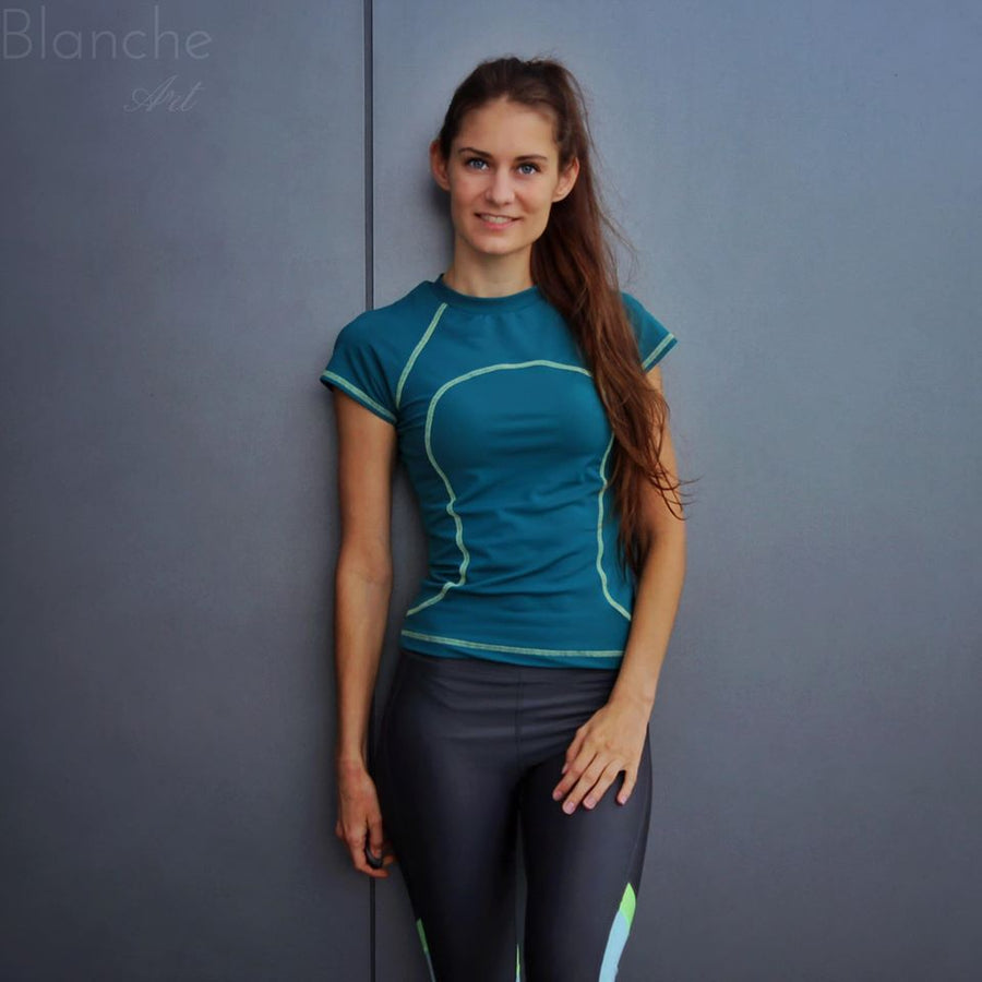 Waimea Rash Guard PDF Sewing Pattern