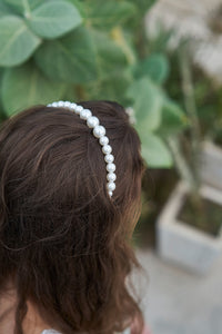 Alice in pearlyland headband