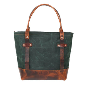 Maryland Tote (Forest Green)