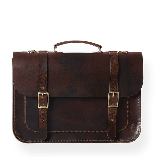 Brooklyn Satchel (Bourbon Brown)