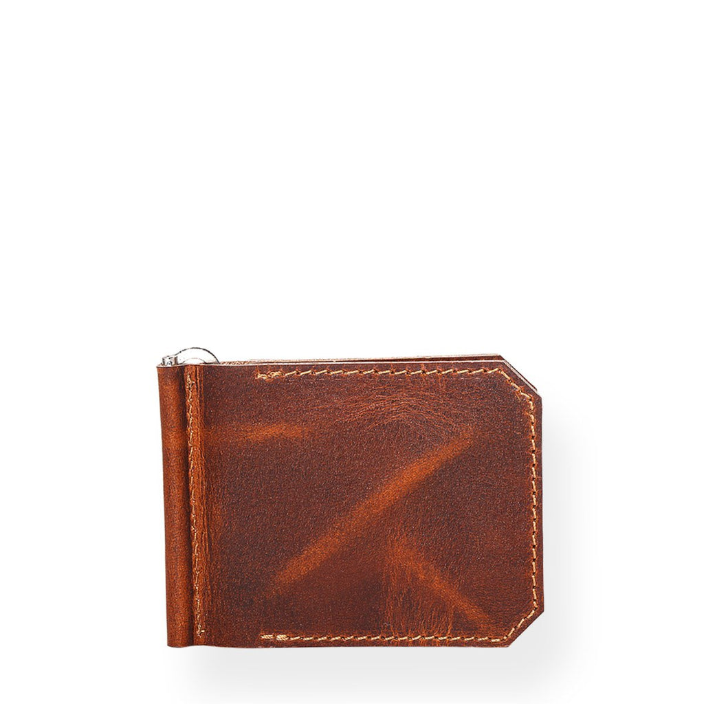 Rugged Money Clipper (Tobacco Tan)