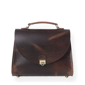 Victoria Handbag (Bourbon Brown)