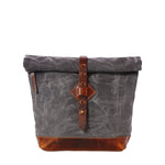 Adventure Roll Top Cross Body (Charcoal Grey)