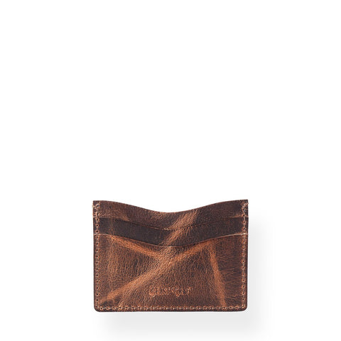 Minimal Card Holder (Bourbon Brown)