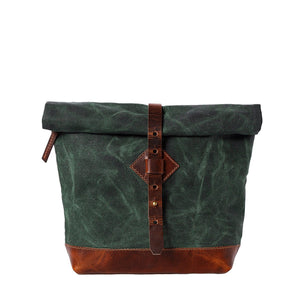 Adventure Roll Top Crossbody (Forest Green)