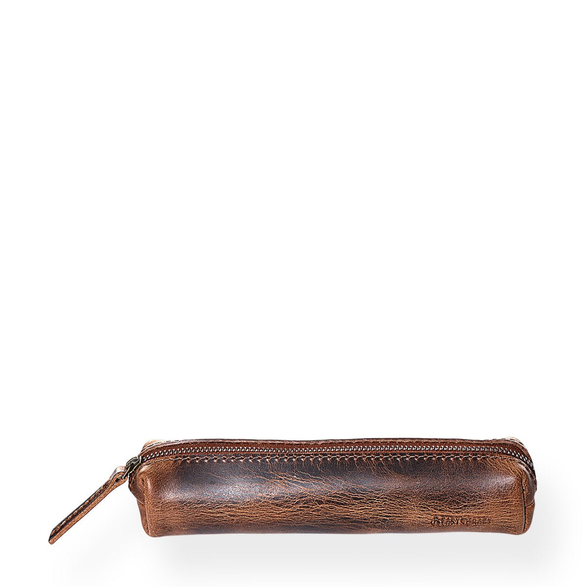 Minimal Stationery Pouch (Bourbon Brown)