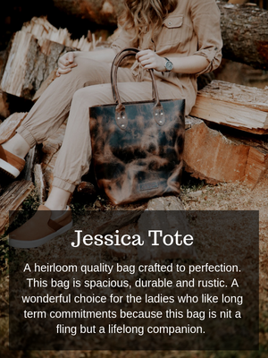Jessica Tote Bag (Bourbon Brown)