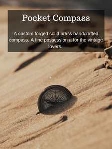 Pocket Compass (Tobacco Tan Cover)