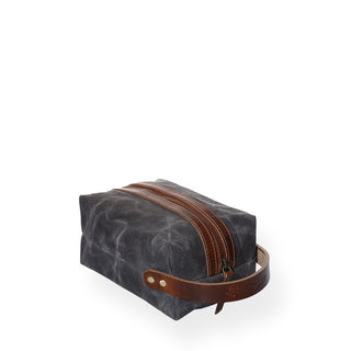 Portland Dopp Kit (Charcoal Grey)