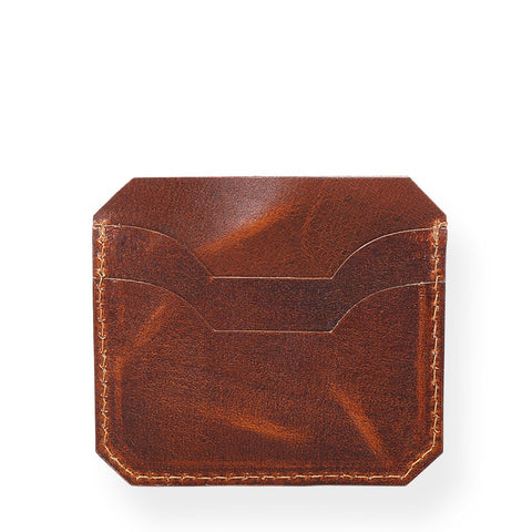 Rugged Card Holder (Tobacco Tan)