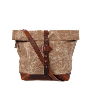 Adventure Roll Top Crossbody (Sand Storm)