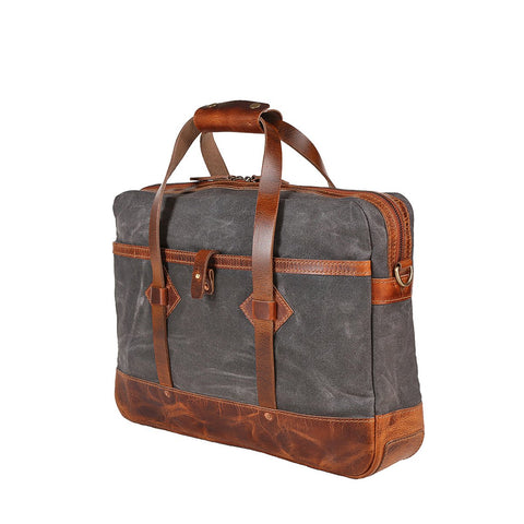 Adventure Briefcase (Charcoal Grey)
