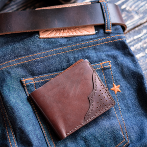 Texas Wallet (Bourbon Brown)