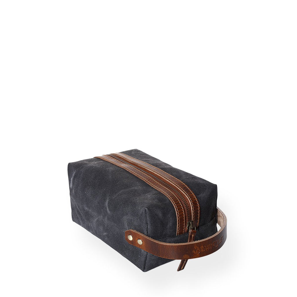 Portland Dopp Kit (Deep Black)