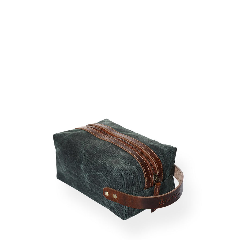 Portland Dopp Kit (Forest Green)