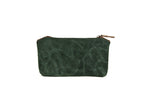 Stationery Canvas Pouch (Forest Green)