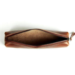 Minimal Stationery Pouch (Tobacco Tan)