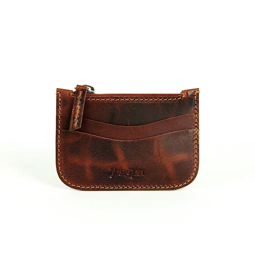 Boston Card Holder (Tobacco Tan)
