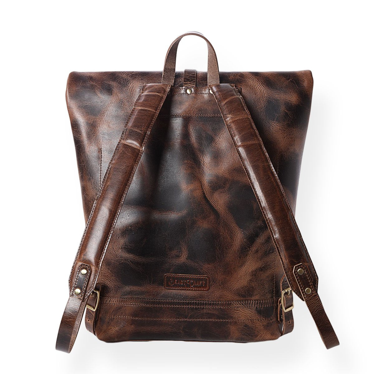 Legacy Roll Top Backpack  (Bourbon Brown)