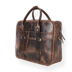Boston Briefcase (Bourbon Brown)