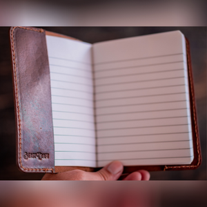 Minimal Notebook Cover (Tobacco Tan)