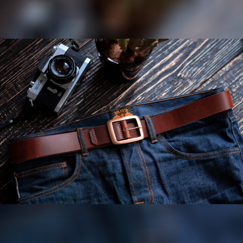 Legacy Belt (Tobacco Tan)