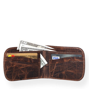 Portland Wallet (Bourbon Brown)