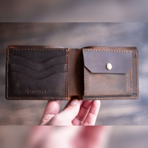 Texas Wallet (Vintage Brown)