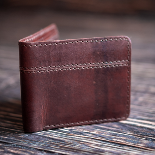 Boston Wallet (Bourbon Brown)
