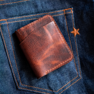 Glasgow Mini Wallet (Tobacco Tan)