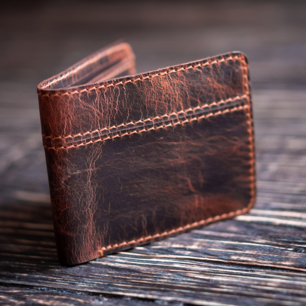 Boston Wallet (Tobacco Tan)